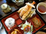 Gonoe Sushi Shrimp Tempura Bento