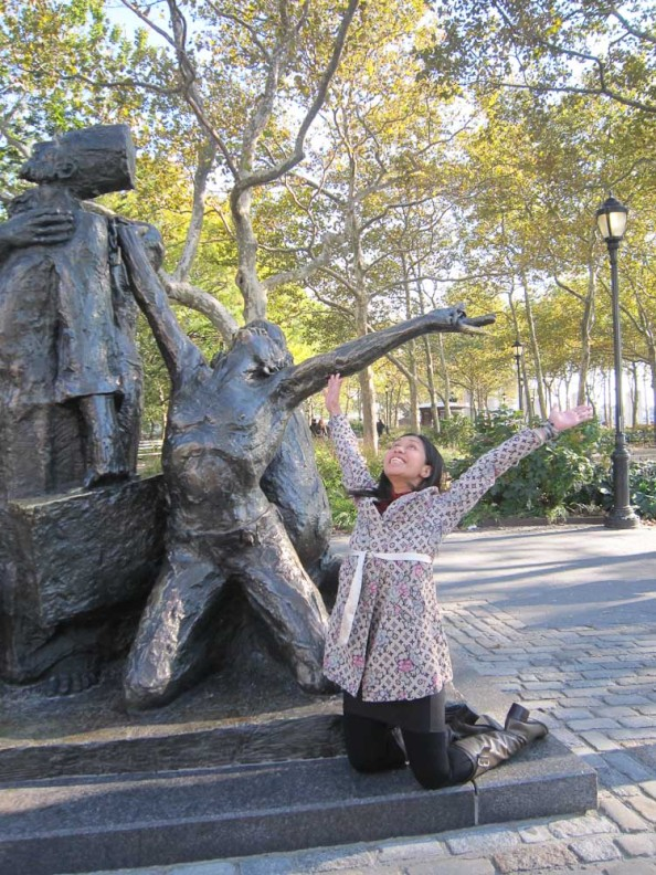 Ishy at Battery Park NYC