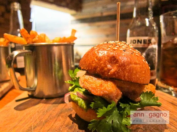 The County General Fried Chicken Thigh Sandwich