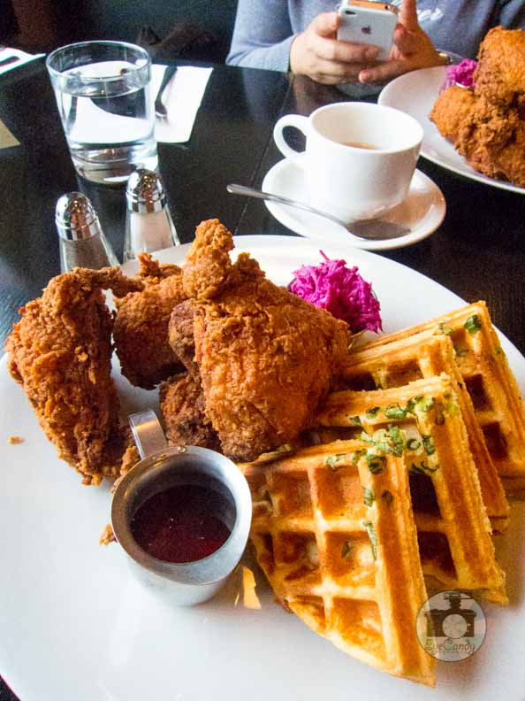 The White Brick Kitchen Chicken and Waffles