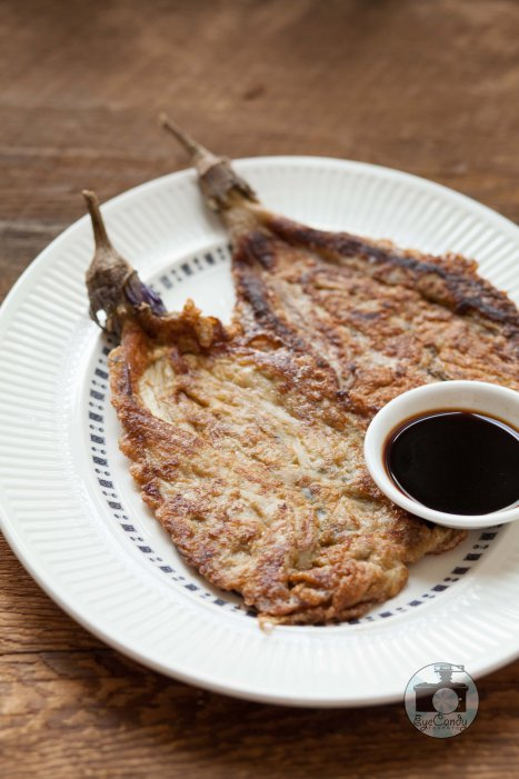 Tortang Talong, eggplant omelette